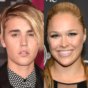 Ronda Rousey, Justin Bieber