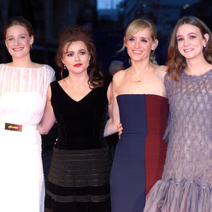 Romola Garai, Helena Bonham Carter, Anne-Marie Duff and Carey Mulligan, Suffragette