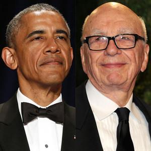 Barack Obama, Rupert Murdoch