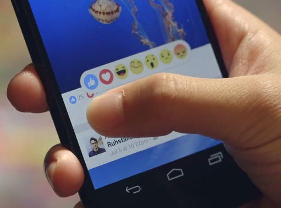 Facebook emojis, dislike button