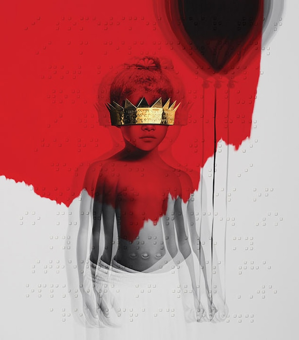 Rihanna, ANTI, Album Artwork