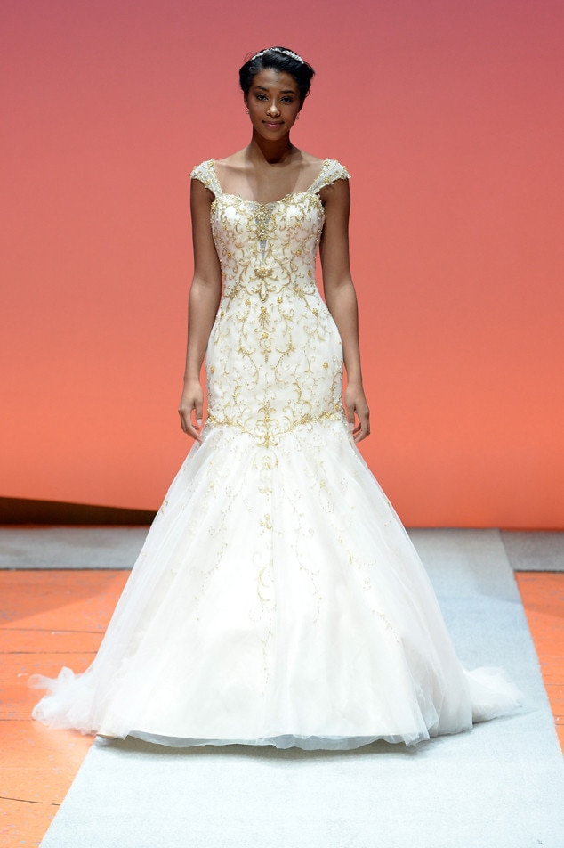 Alfred angelo disney 39 s tiana from best looks from the for Wedding dress disney collection