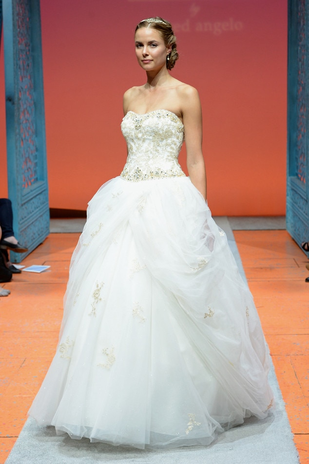 alfred angelo 39 s disney princess wedding gowns are basically a dream