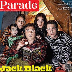 Jack Black, Parade Magazine, Goosebumps
