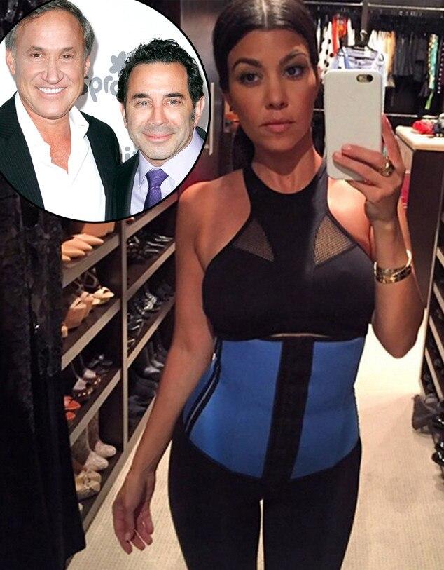 Kourtney Kardashian, Instagram, Waist Trainer, Paul Nassif, Terry Dubrow