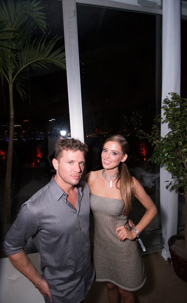Ryan Phillippe, Paulina Slagter, New Year's Eve 2015