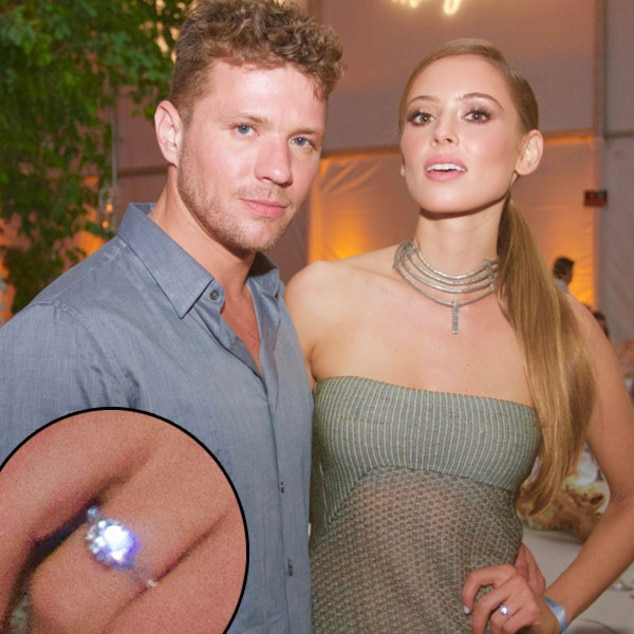 Paulina Slagter, Ryan Phillippe, Ring