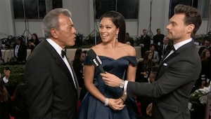 Gina Rodriguez, Father, 2016 Golden Globes