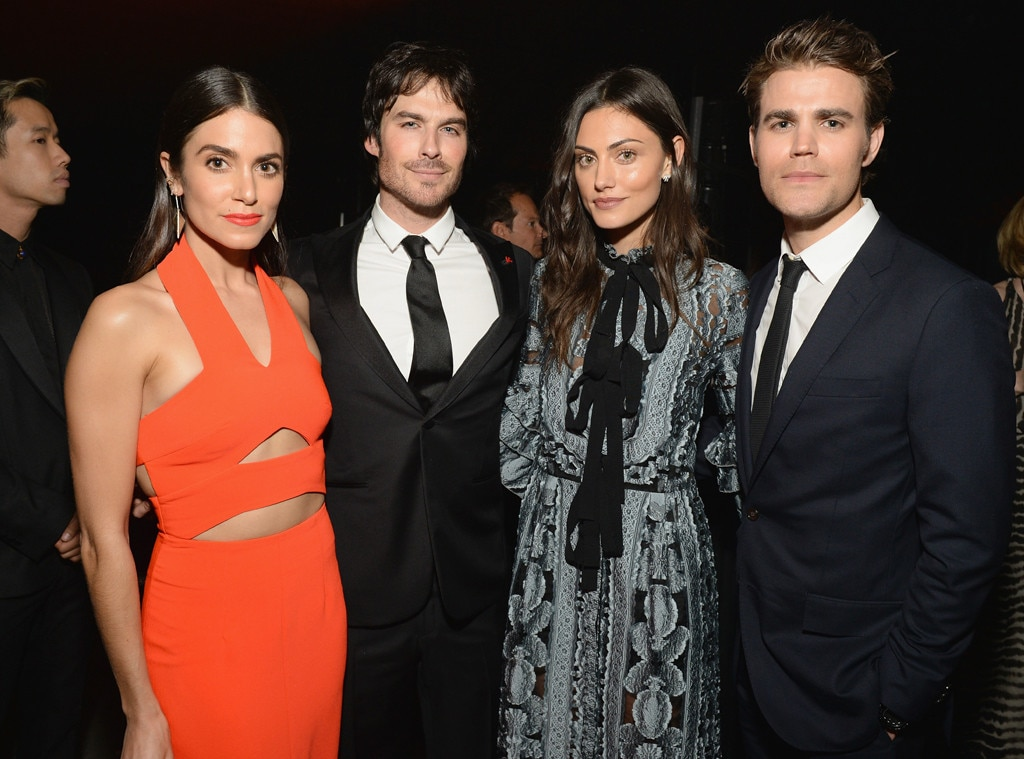 Nikki Reed, Ian Somerhalder, Phoebe Tonkin, Paul Wesley, The Art of Elysium