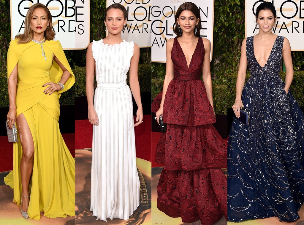 Best Dresses, Golden Globes
