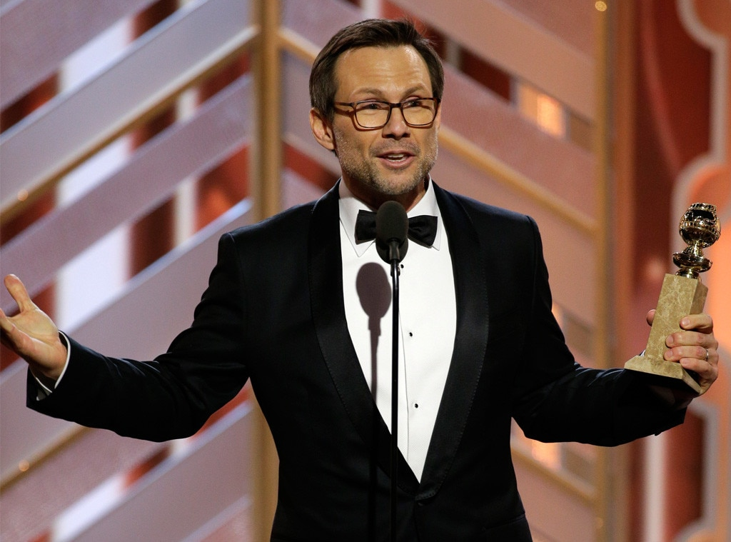 Christian Slater, Golden Globes Winners