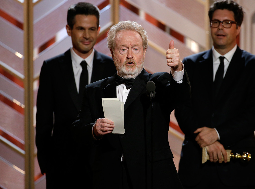 Ridley Scott, The Martian, Golden Globe Awards, Winners