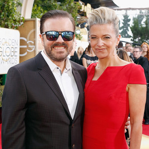 Ricky Gervais, Jane Fallon, Golden Globe Awards