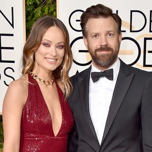Olivia Wilde, Jason Sudeikis, Golden Globe Awards Couples