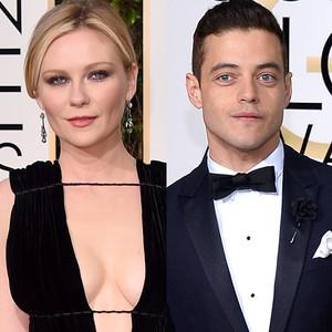 Kirsten Dunst, Rami Malek, Golden Globe Awards