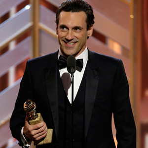 Jon Hamm, Golden Globe Awards