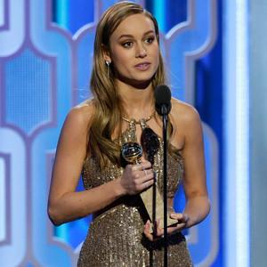 Brie Larson, Golden Globe Awards, Winner