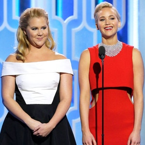 Jennifer Lawrence, Amy Schumer, Golden Globe Awards