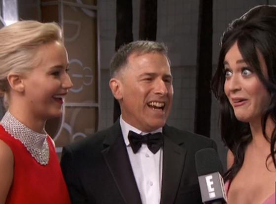 Jennifer Lawrence, Katy Perry, 2016 Golden Globes