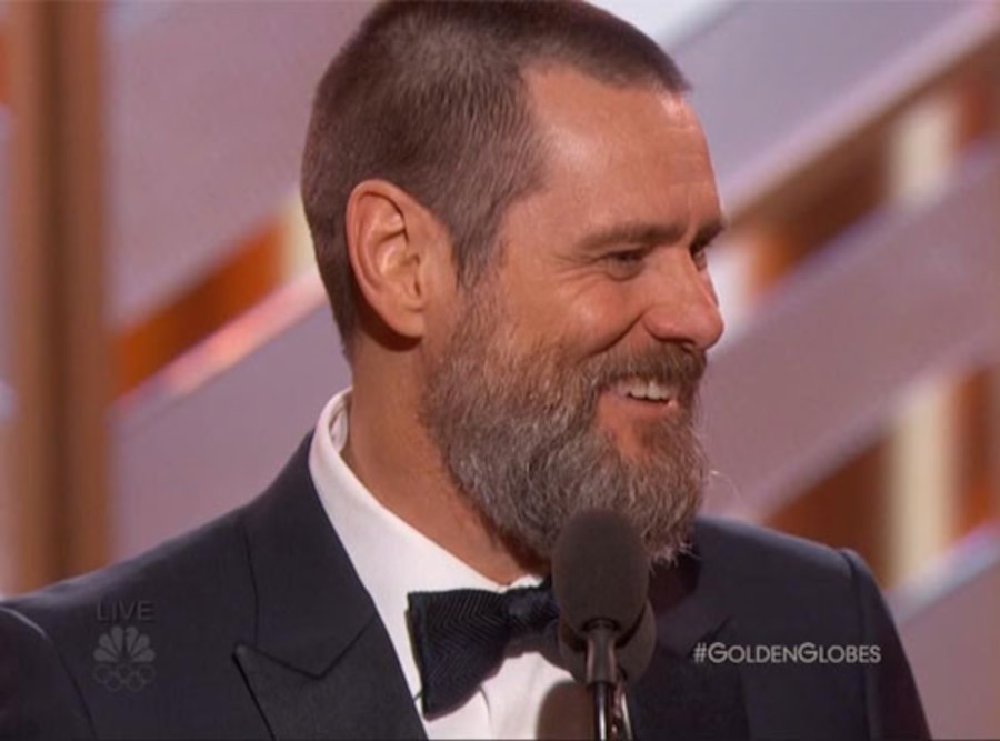 Jim Carrey Golden Globes