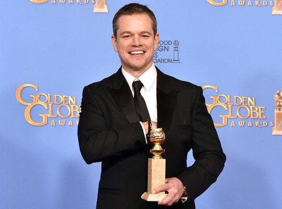 Matt Damon, Golden Globe Awards, Winners