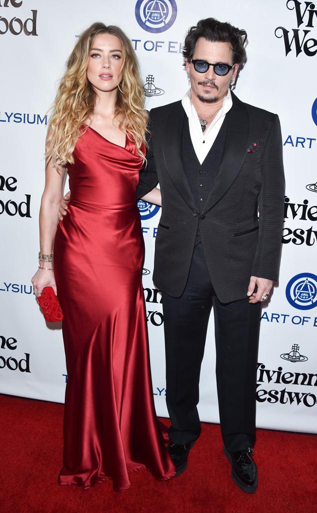 Amber Heard, Johnny Depp, Art of Elysium