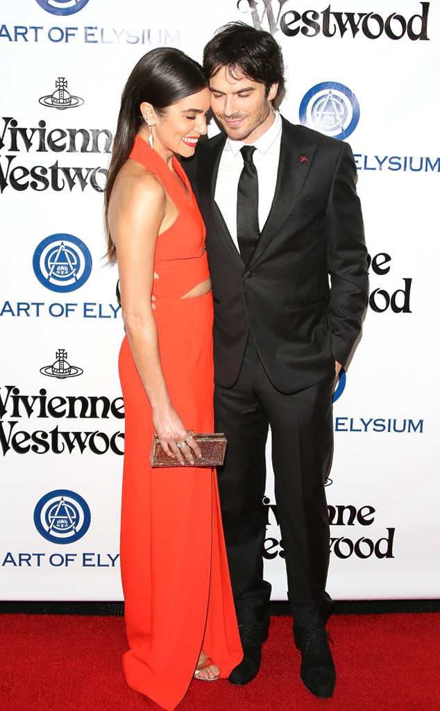 Ian Somerhalder, Nikki Reed, Art of Elysium