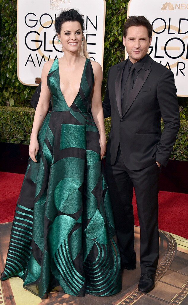 Jaimie Alexander, Peter Facinelli, Golden Globe Awards Couples