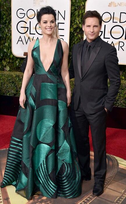 Jaimie Alexander, Peter Facinelli, Golden Globe Awards Couples