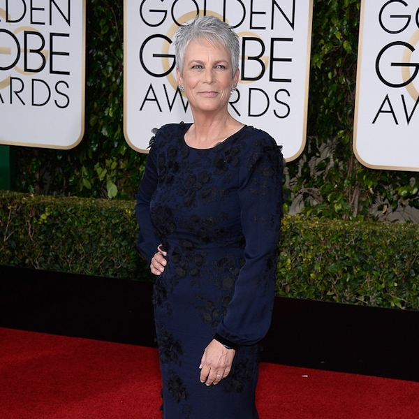 Jamie Lee Curtis From 2016 Golden Globes Red Carpet