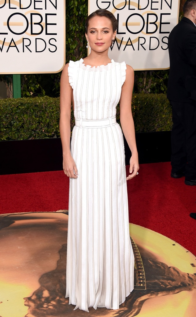 Alicia Vikander, Golden Globe Awards