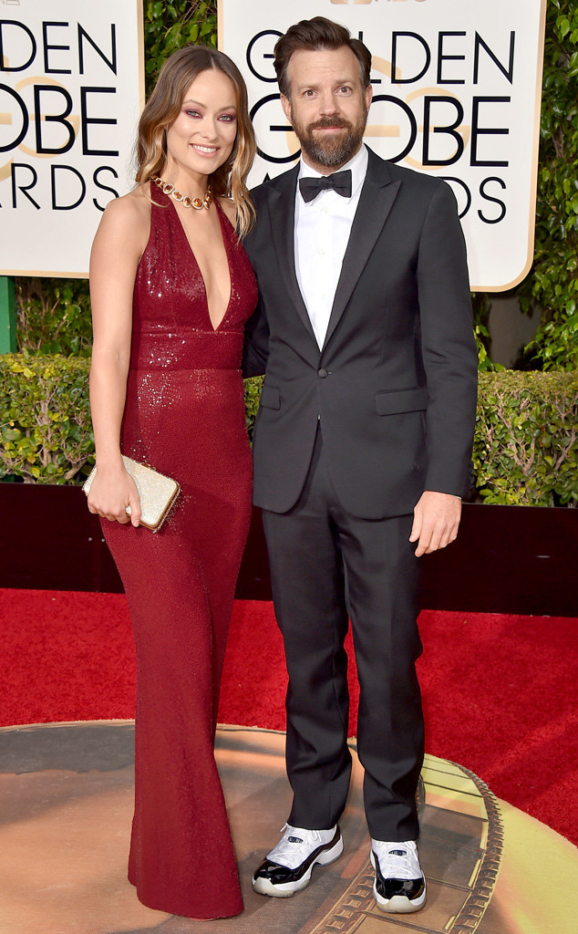 Olivia Wilde, Jason Sudeikis, Golden Globe Awards Couples