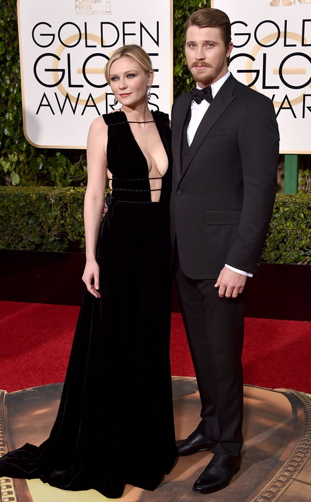Kirsten Dunst, Garrett Hedlund, Golden Globe Awards Couples
