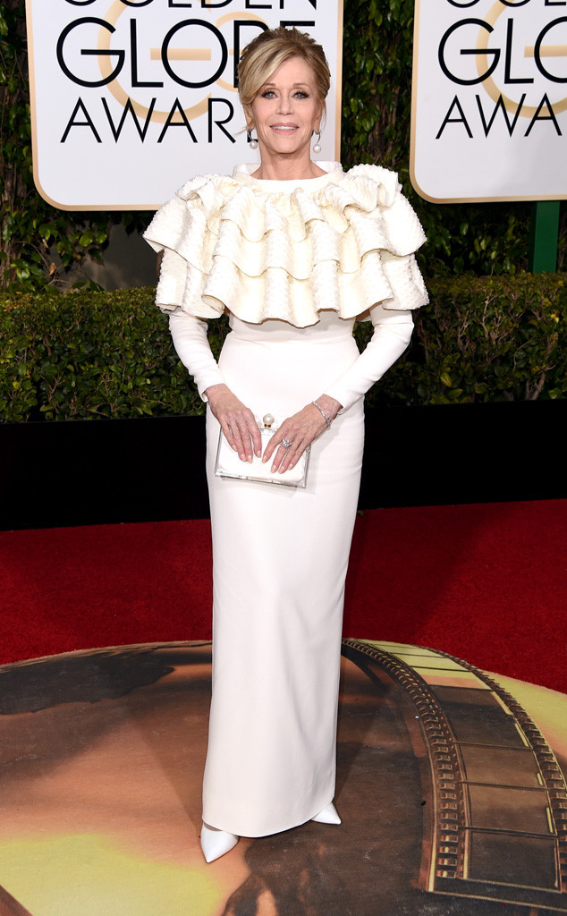 Jane Fonda, Golden Globe Awards