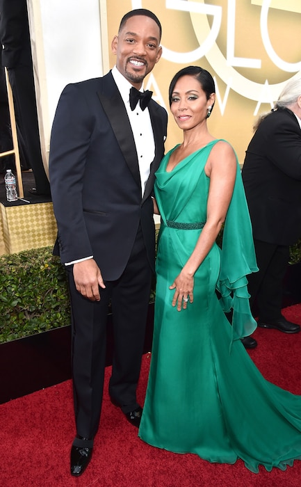 Will Smith, Jada Pinkett Smith, Golden Globe Awards Couples