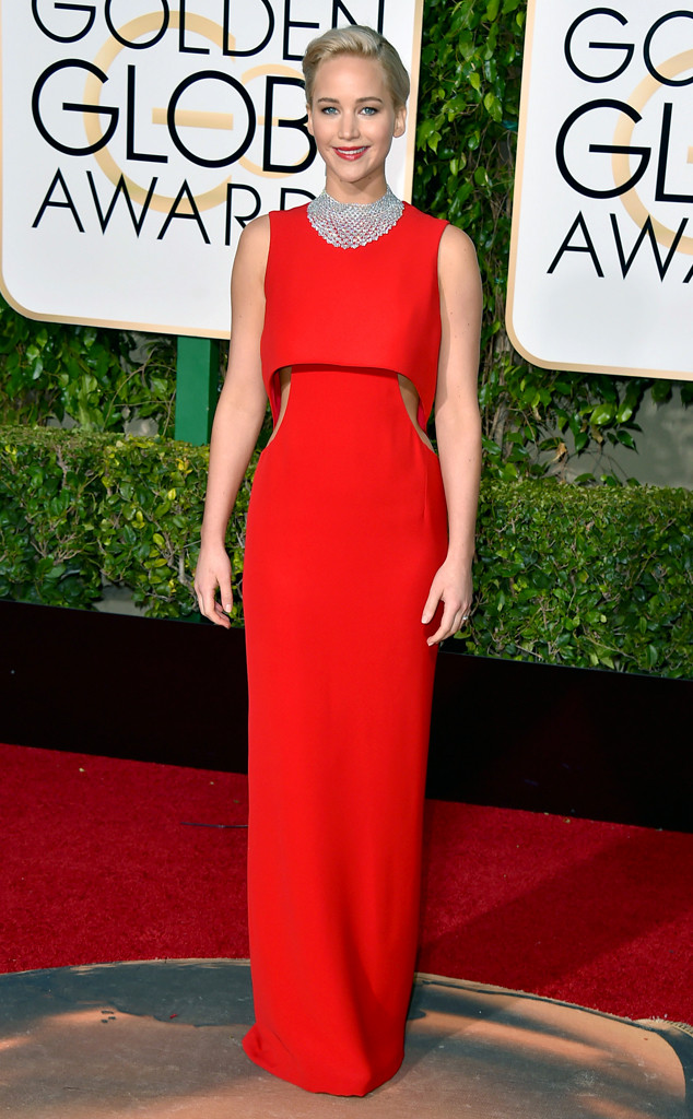 Jennifer Lawrence, Golden Globe Awards