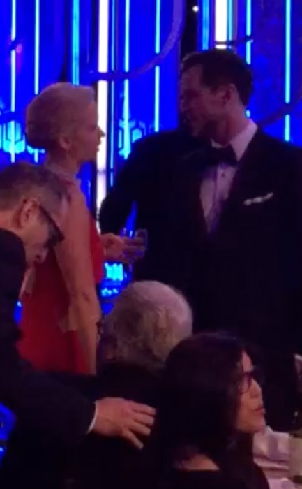 Jennifer Lawrence, Nicholas Hoult, Golden Globe Awards
