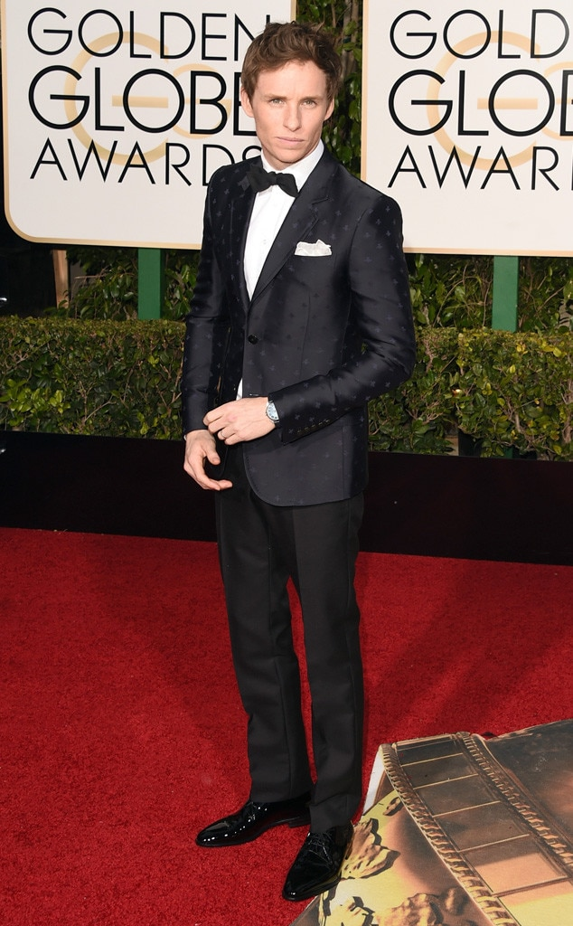 Eddie Redmayne, Golden Globe Awards