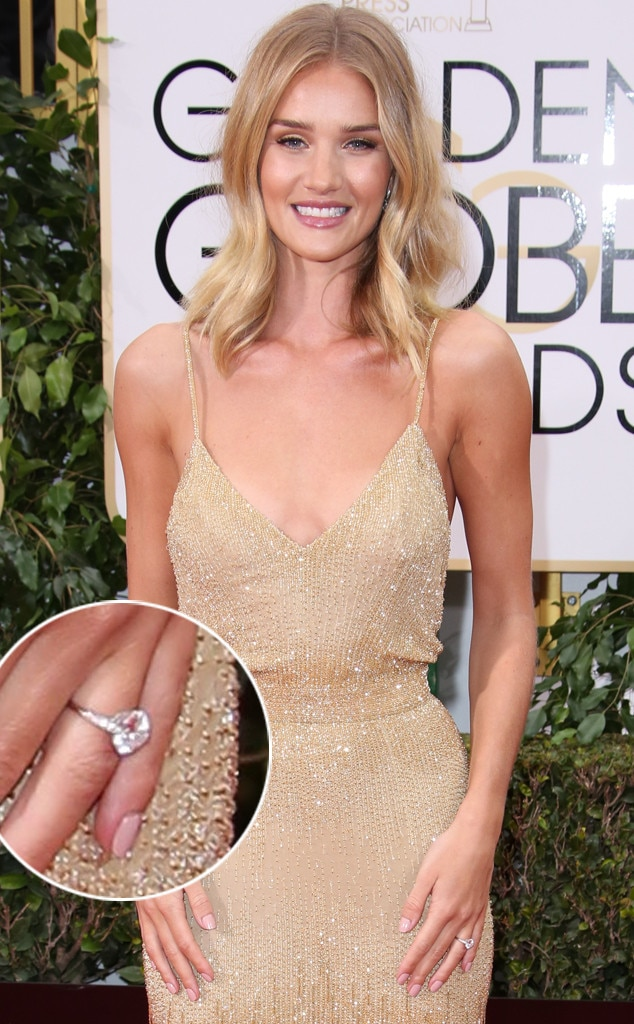 Rosie Huntington-Whiteley, Golden Globe Awards, Ring