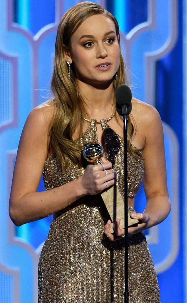 Brie Larson, Golden Globe Awards, Winner