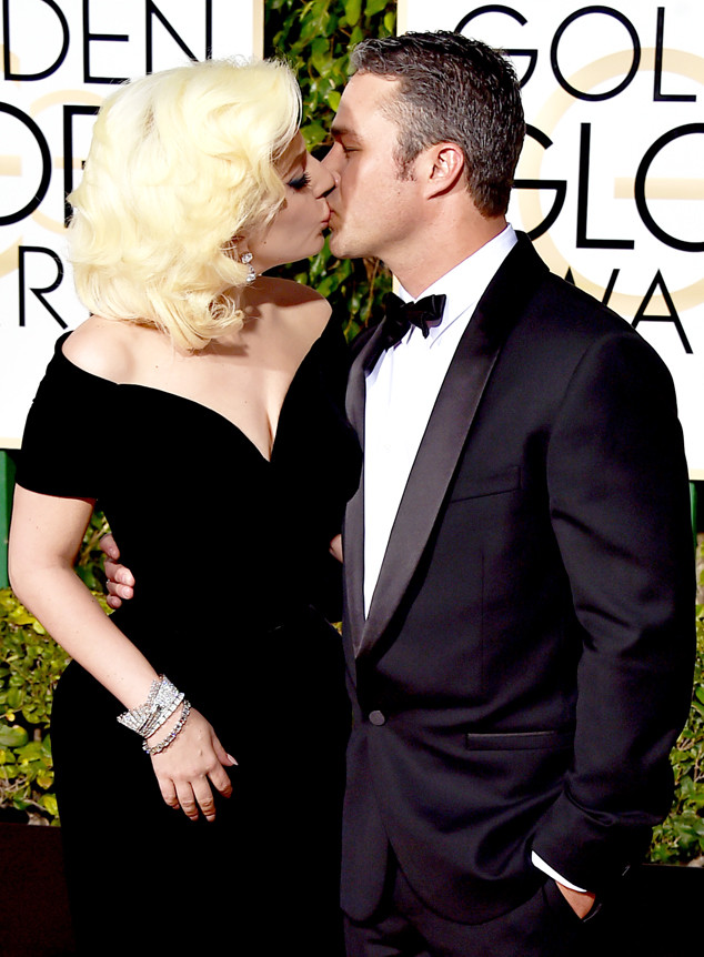 Lady Gaga, Taylor Kinney, Golden Globe Awards, Candids
