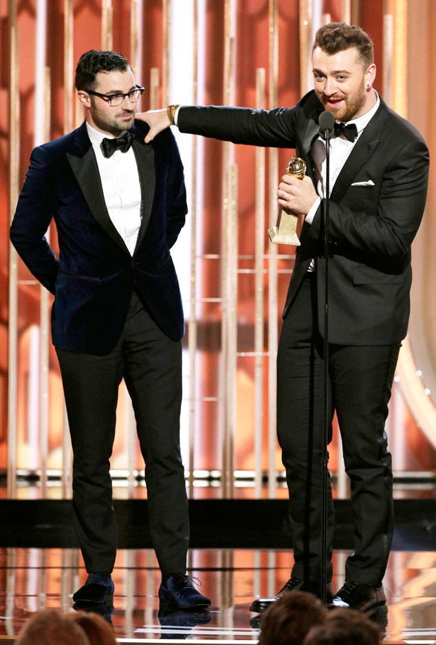 Sam Smith, Jimmy Napes, Golden Globe Awards, Winners