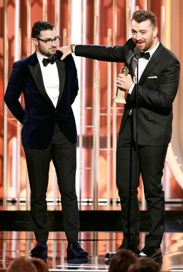 Sam Smith, Jimmy Napes, Golden Globe Awards, Winners