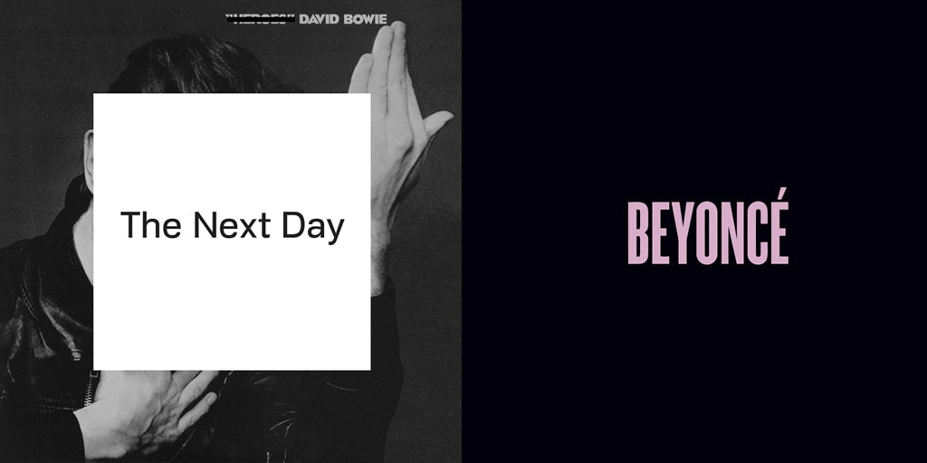 Beyonce, Beyonce Album, David Bowie, The Next Day Album