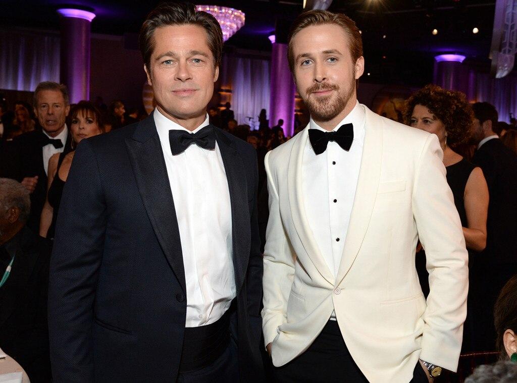 Ryan Gosling, Brad Pitt, Golden Globe Awards