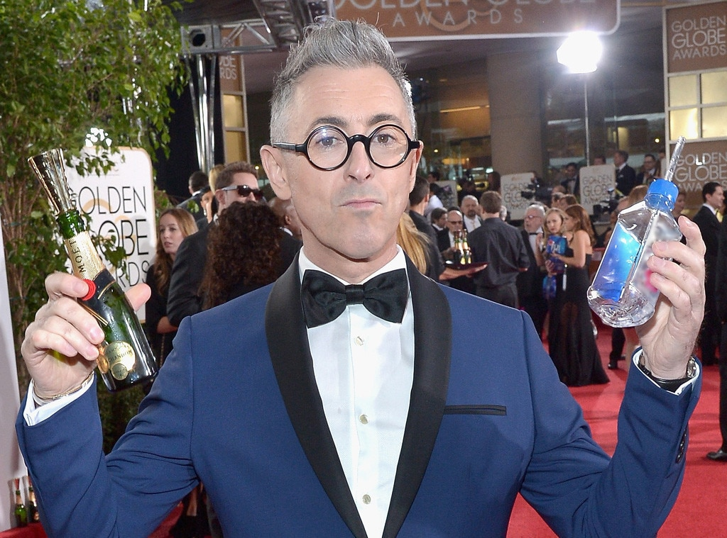 Golden Globe Awards Water, Alan Cumming