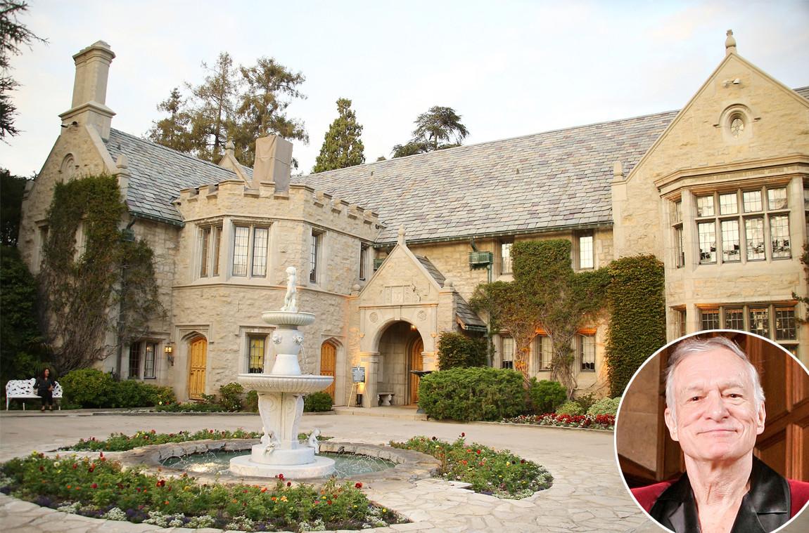 Playboy Mansion, Hugh Hefner