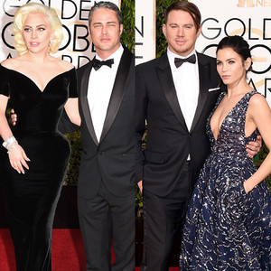 Channing Tatum, Jenna Dewan Tatum, Golden Globe Awards Couples, Lady Gaga, Taylor Kinney