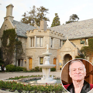 Playboy Mansion, Hugh Hefner