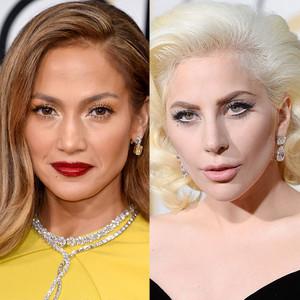 Jennifer Lopez, Lady Gaga, Golden Globe Awards